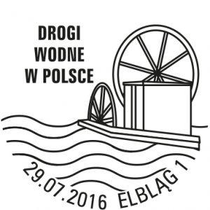 Drogi Wodne Kanal Elblaski datownik