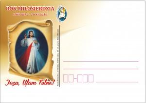 kartka okolicznościowa-Rok Miłosierdzia