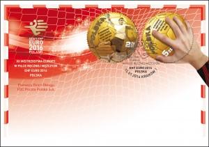 XII Mistrzostwa Europy w Pilce Recznej koperta