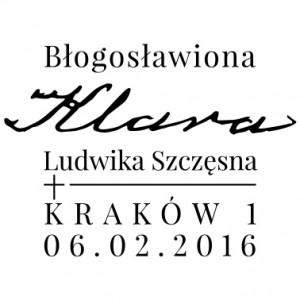 Bl Klara Szczesna datownik