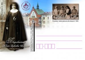 Bl Klara Szczesna kartka