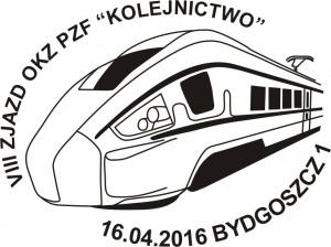 Datownik okolicznościowy 16.04.2016 Bydgoszcz