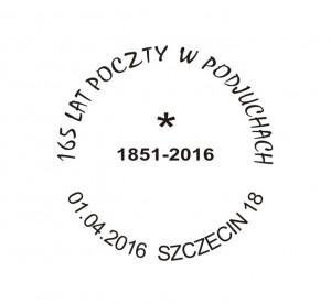 Datownik okolicznościowy 01.04.2016 Gdańsk