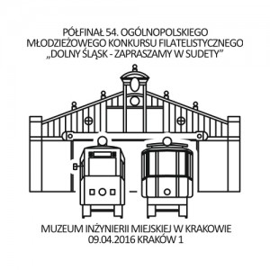Datownik okolicznościowy 09.04.2016 Kraków