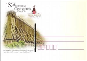 Kartka okolicznościowa Ciechocinek -180lat uzdrowiska