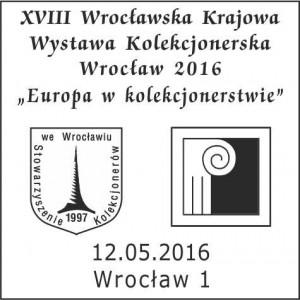 datownik okolicznościowy 12.05.2016 Wrocław