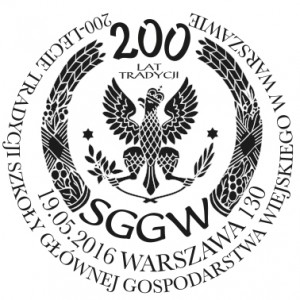 200 lat SGGW datownik