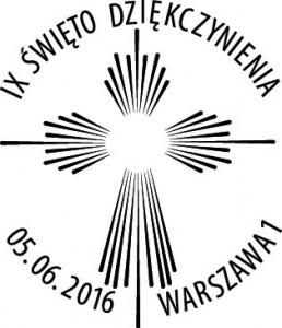 datownik okolicznościowy 05.06.2016 Warszawa
