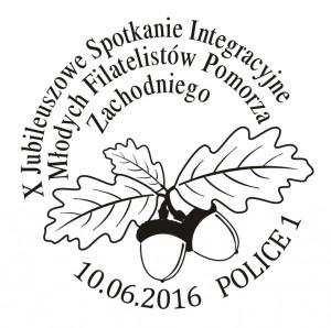 datownik okolicznościowy 10.06.2016 Gdańsk