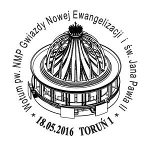 datownik okolicznościowy 18.05.2016 Bydgoszcz